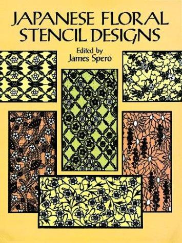 Japanese Floral Stencil Designs par James Spero
