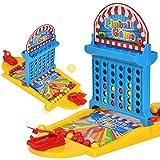 Zantec Giocattolo del flipper dei bambini Set + 36pcs che arrotondano le sfere che migliorano la concentrazione di interattività del bambino Giochi del desktop Giochi