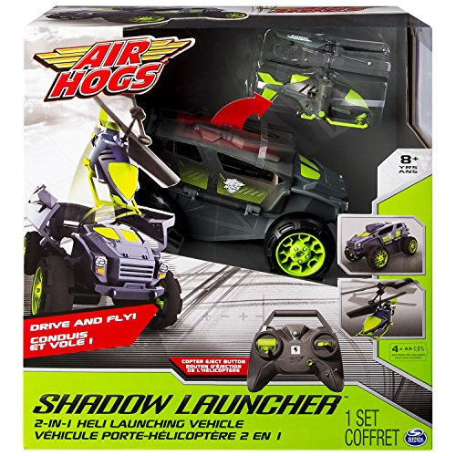 Air Hogs Shadow Launcher Remote controlled car & helicopter - juguetes de control remoto (AA, 1,5 V, 279,4 mm, 134,6 mm, 304,8 mm, 1,23 kg)