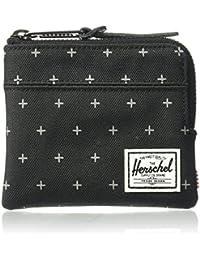 Herschel Johnny RFID Black Gridlock