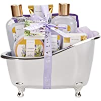Spa Luxetique Coffret de Bain, 8 Pièces Parfum de Lavande, Coffret Cadeau pour Femme, Cadeau d'Anniversaire et des Fêtes…