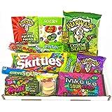 Surtido de Gominolas Ácidas | Selección de Golosinas Americanas Ácidas| La caja incluye Warheads Extreme, Sour Jelly Beans, Cry Baby Gum | Pack de fiesta | 15 unidades