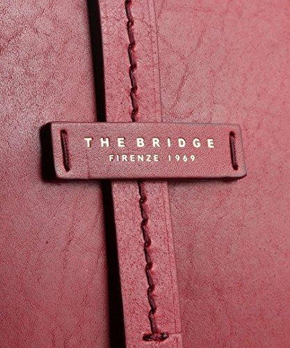 The Bridge Dalston Borsa a mano pelle 37 cm rot, rot