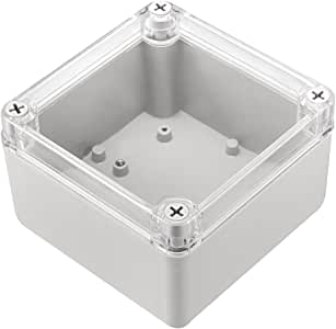 sourcingmap 3Pcs 60 x 36 x 25mm Electronic Plastic DIY Junction Box Enclosure Case White