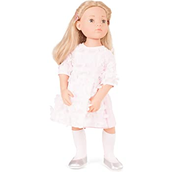 0dd5507e Gotz 1766045 Happy Kidz Emma Doll - 50 cm Multi-Jointed Standing-Doll With  Blonde Hair And Stone-Grey Eyes - Suitable Agegroup 3+