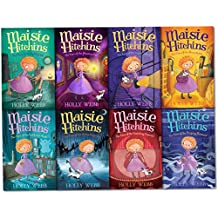 Holly Webb Maisie Hitchins Series Collection 8 Books Set (The Case of the Stolen Sixpence, Feathered Mask, Secret Tunnel, Blind Beetle, Weeping Mermaid, Phantom Cat, Spilled Ink, Vanishing Emerald)