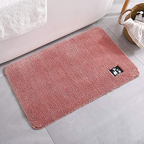 YIWAN Kuchen Samt Badezimmer Matte saugfähigen Matten Nacht Teppich zart rosa kann Jede Größe angepasst Werden (Große Schokolade-bad-teppich)