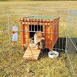 Trixie Natura Habitat Naturel 42 × 43 × 51 cm pour Lapin