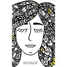 Happy Agenda Planner 2017: Zentangle Girl