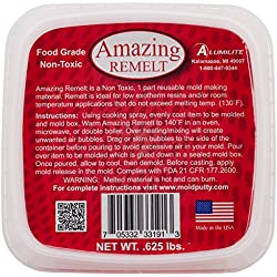 Amazing casting Productos Resina remelt 0,625lb-red