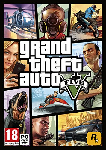 UK Import PC GTA 5 Grand Theft Auto V uncut auf deutsch spielbar (Gta V 5 Pc)