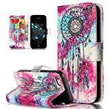 Coque iPhone 5C,Etui iPhone 5C,ikasus Coque iPhone 5C Bookstyle Étui Housse en Cuir...