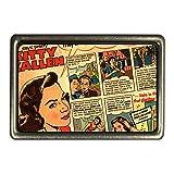 Cadora Gürtelschnalle Buckle Vintage Retro Kitty Kallen Comic Haarwäsche gegen fettiges Haar