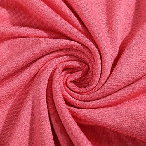 LAEMILIA Femmes Chemisier Chemise Dentelle Splicing Manche Longue Col Rond Blouse Casual Tunique Hauts Shirt Rose
