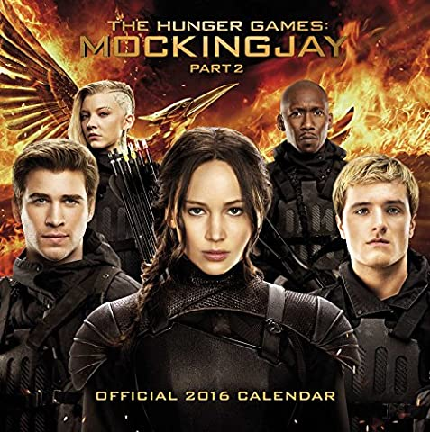 Calendrier Chinois 2016 - The Official The Hunger Games: Mockingjay 2016