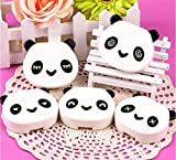 dmtse Panda caja us-pupil lente de contacto Cuidado Case (Random Color y aleatoria)