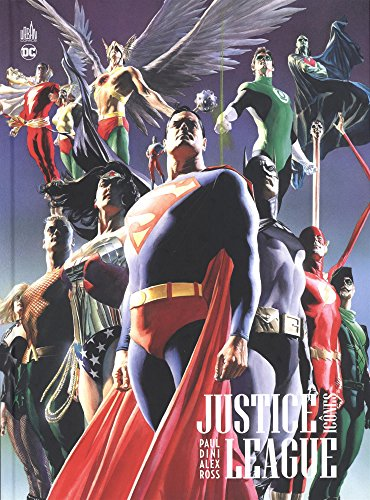 Justice League - Icônes par Dini Paul