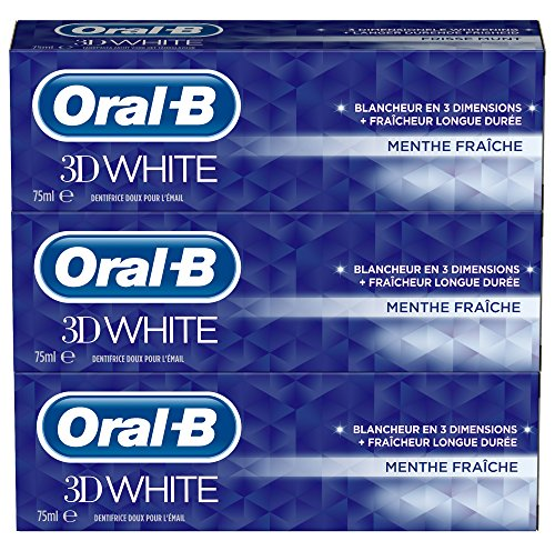 dentifrice-oral-b-3d-white-menthe-fraiche-75ml-lot-de-3