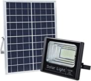 100W White LED Solar Flood Light Waterproof Outdoor for Gardens Lawn Street