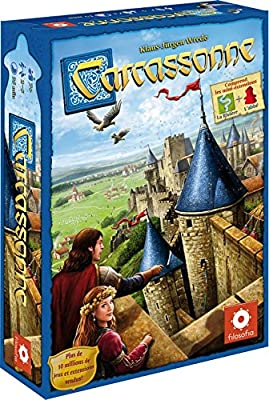 Asmodee CARC01N - Carcassonne - Jeu de Stratégie