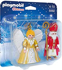 Idea Regalo - Playmobil 5592 - San Nicola e Angelo di Natale