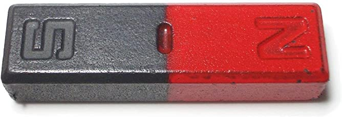 zoom scientific world Ferrite Bar Magnets Black and Red