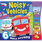 6 Sounds Emergency Vehicles Car Truck Train - Noisy Boards (Igloo Books Ltd)