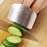 Okayji Stainless Steel Cutting Protector, Silver