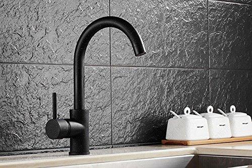 Gyps Faucet Waschtisch-Einhebelmischer Waschtischarmatur BadarmaturKüche Wasserhahn voll Kupfer den Tank spülen Töpfe Winkelstück Blender zu Drehen.,Mischbatterie Waschbecken (Blender Topf)