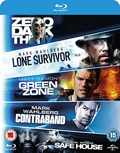 Dark Thirty / Safe House / Green Zone / Contraband [Blu-ray] [2010] [Region Free] ()