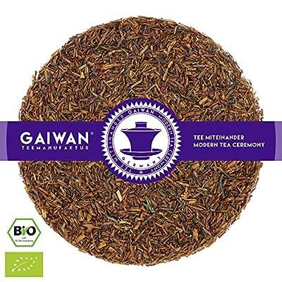 """N° 1254: Thé rooibos bio """"Rooibos naturels"""" - feuilles de thé issu de l'agriculture biologique - GAIWAN® GERMANY - rooibos de Afrique du Sud"""