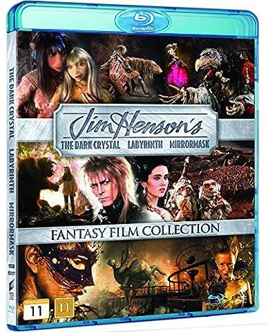 Jim Henson Collection 3-Disc The Dark Crystal / Labyrinth / Mirrormask [Region Free Nordic]Blu Ray