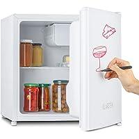 KLARSTEIN Spitzbergen - réfrigérateur, compartiment congélateur, design ZestfulART: porte inscriptible avec marqueur…