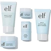 e.l.f. Jet Set Hydration Kit   TSA-freundliche Hautpflege   Cleanser, Balm, Feuchtigkeitscreme, Augencreme und…