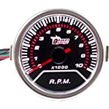 E Support &Trade; 2 inch 52 mm LED auto universele toerentalmeter weergave instrument RPM Gauge hoge kwaliteit