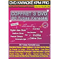 "Coffret 3 DVD Karaoké KPM Pro ""Stars En Scène 4, 5 et 6"""