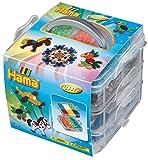 Hama 6701 Kleine Aufbewahrungsbox, 6000 Perlen und Zubehör, Bunt, M