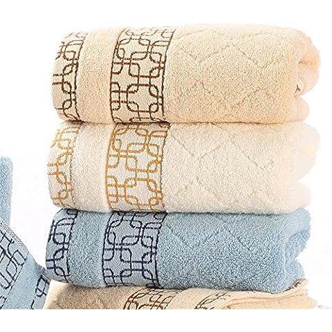 300 grammi Super morbida fibra lunga pettinati cotone 3 pezzi Set creativo Sports coppia asciugamano