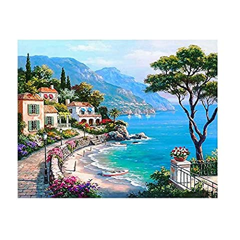 Cross Stitch 5D Embroidery Paintings Rhinestone Pasted DIY Diamond painting Home Decor (Multicolor