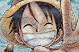 One Piece - 1000pcs Jigsaw Puzzle [Mosaic Art] (japan import)