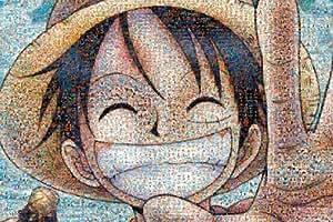 One Piece - 1000pcs Jigsaw Puzzle [Mosaic Art]
