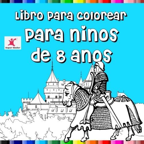 Libro para colorear para niños de 8 años