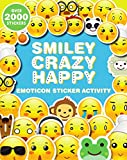 Smiley, Crazy, Happy Emoticon Sticker Activity