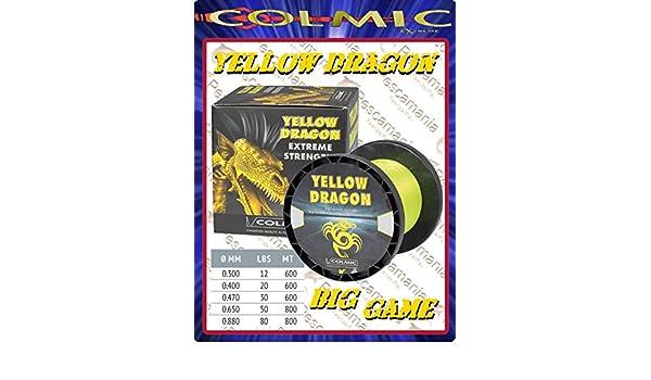 COLMIC RED DRAGON 800mt 0.65-50 LBS Filo da Traina