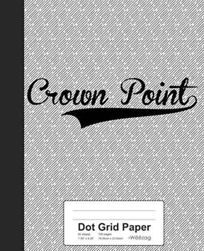 Dot Grid Paper: CROWN POINT Notebook (Weezag Dot Grid Paper Notebook, Band 2671)
