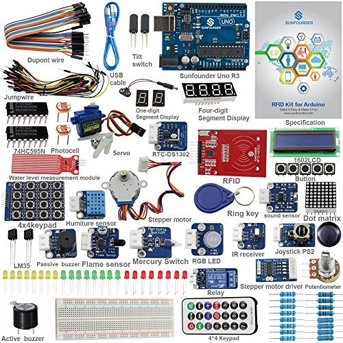 Preisvergleich Produktbild SunFounder Starter RFID Learning Kit V2.0 for Arduino Beginner, from Knowing to Utilizing