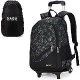 Kostenlose Regenhülle Trolley Bag Schulrucksack Kindergepäck Schulranzen Kinder Rucksack Schultaschen Rollen Junge Kinder Spo