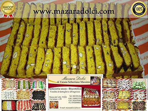 Quaresimali Cantucci Morbidi alle Mandorle 100% Sicilia Dolci Biscotti 1 kg
