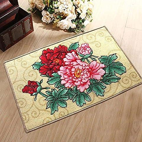 Guida introduttiva Tavolino Cucina antiscivolo spessa stuoia rettangolare carpet (colore, formato facoltativo) ( colore : C. , dimensioni : 50*80cm )