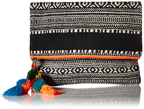 ale-by-alessandra-womens-segovia-tribal-foldable-clutch-with-pom-tassel-orange-one-size